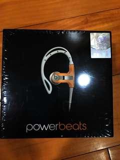 Beats PowerBeats 橘白 公司貨 原價5900