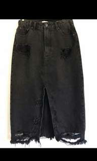 General pants denim skirt