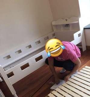 日本品牌兒童三尺床,只用一年,搬屋急放!