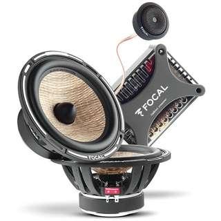 法國原裝進口 FOCAL PS 165 FX亞麻纖維 二音路分音喇叭