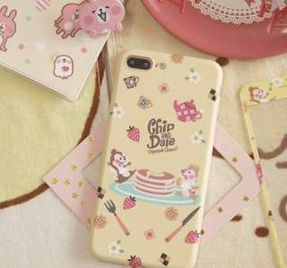 PO - chip and dale pancake iPhone case