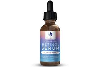 [IN-STOCK] Foxbrim Retinol Facial Serum - 2.5% Phospholipid Based - Anti Aging Face Serum - With Vitamin A , Hyaluronic Acid & Organic Jojoba Oil - 1OZ