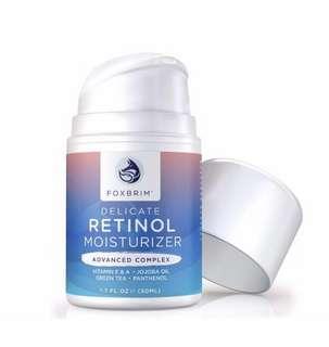 [IN-STOCK] Foxbrim Retinol Cream - Advanced Complex Face Moisturizer - Anti-Aging Cream With Natural & Organic Ingredients - 1.7OZ