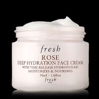 fresh rose deep hydration face cream 玫瑰保濕面霜