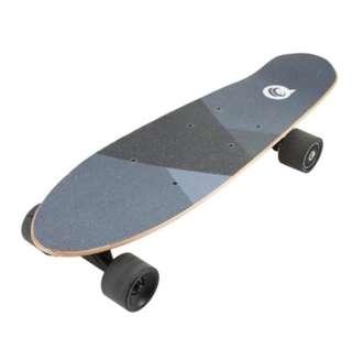 Four wheels electric skateboard.