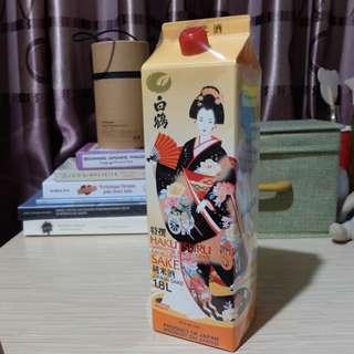 Hakutsuru Junmai Sake