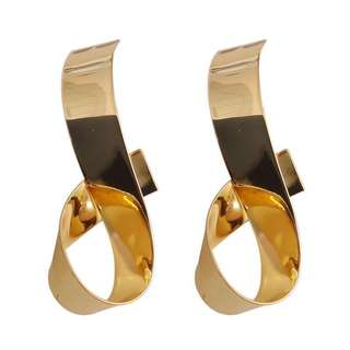 (More Cols) Riggle Plated Earrings