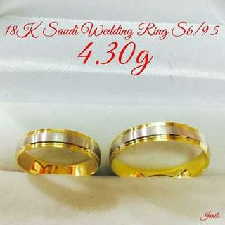 18K Gold Wedding Ring
