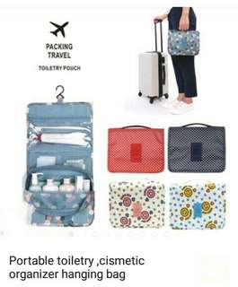 Portable toiletry organizer