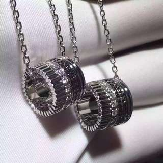 Boucheron 寶詩龍 QUATRE 闊版4式鑽石項鏈