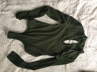 Green long sleeve