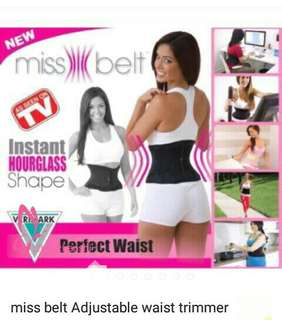 Perfect waist miss belt