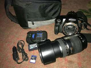 Sony a290 with Tamron