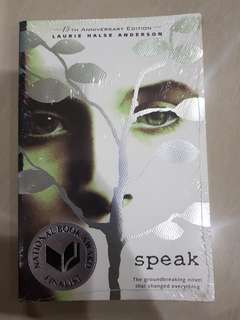 (New) Speak by Laurie Halse Anderson