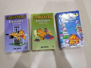 Garfield classics comics (V 1/2/3)