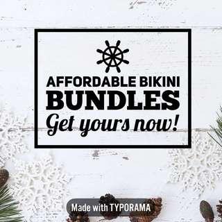 Bikini bundles