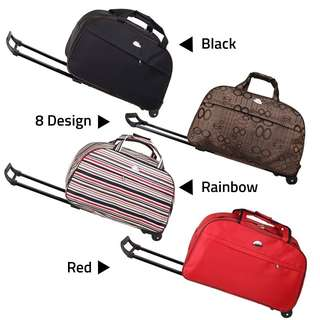 Trolley Duffel Luggage Travel Bag Large Spacious Hand Carry
