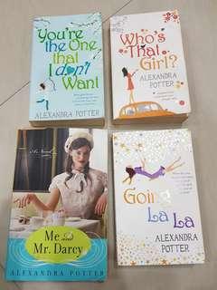 4 books by Alexandra Potter