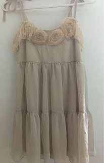 🚚 正韓-雪紡裙
