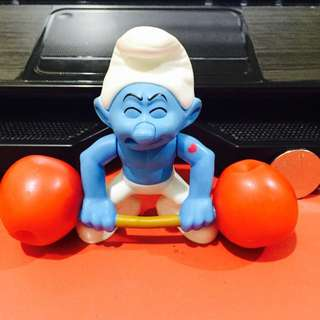 Smurf - Hefty Weight Lifter