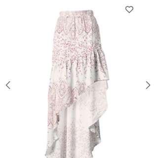 Steele marigold skirt