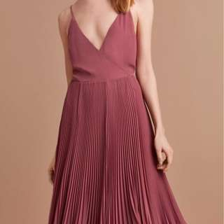 Aritzia Wilfred Beaune Dress - Rose (Size Medium)