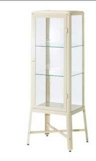 Ikea Fabrikor display cabinet all glass shelf