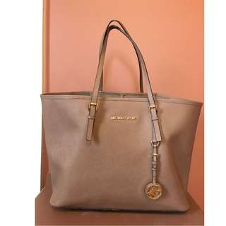 Michael Kors Jetset Travel Tote - Brown/Tan