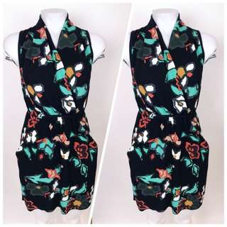 Aritzia Wilfred Sabine Dress - Floral (Size Large)