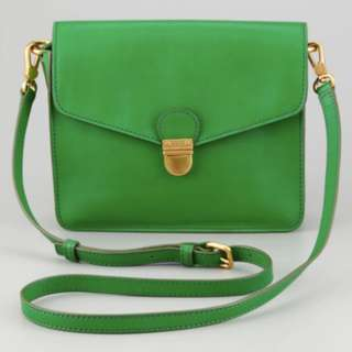 Marc by Marc Jacobs Green Top Chicret Flap Crossbody Bag