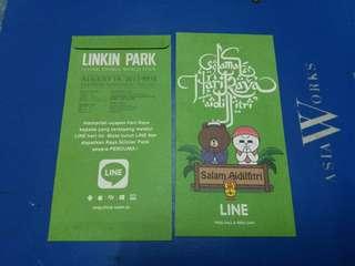 Sampul Raya Linkin Park Concert di Malaysia 2013