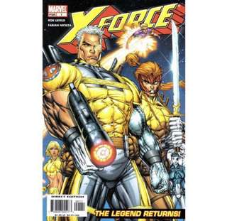 X-FORCE #1-6 (2004) Mini-series complete