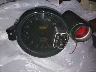 Rpm Tachometer Racing Brand