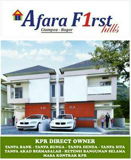 Rumah murah cicilan 1jt/ bln Bogor