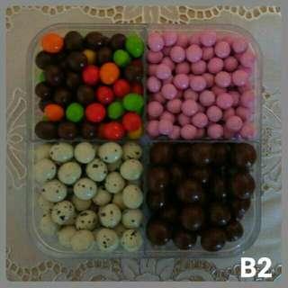 Paket Coklat 4 Macam