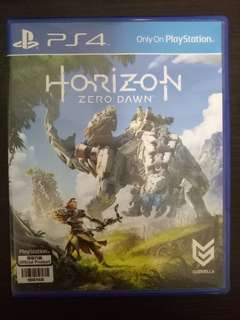 PS4 Horizons Zero Dawn