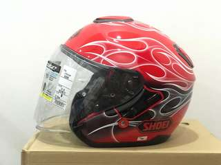 Shoei J Cruise Reborn Red