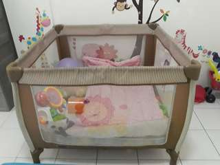 Square Playpen with Foam