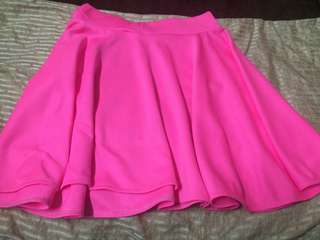cute mini pink skirt