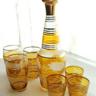 懷舊酒瓶 十 杯6隻