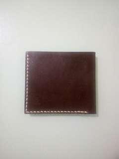 全新Handmade wallet真皮銀包