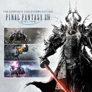 (pc) Final Fantasy XIV complete collectors account