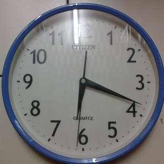 Citizen quartz wall clock
