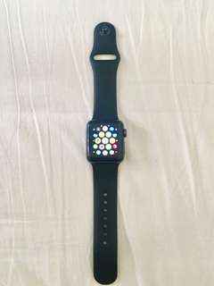 Apple Watch Series 3 38mm (GPS). Warranty till 19 Oct 2019 + Free Brand New Leather Strap (Fixed Price)