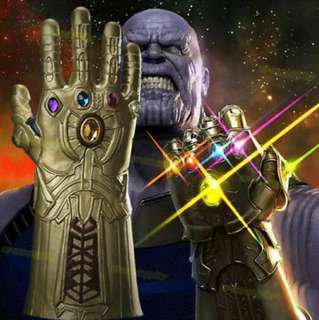 Thanos Infinity glove with 6 gems