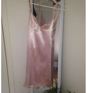 Princess Polly Silk Pink Shift Dress !!!SALE!!!