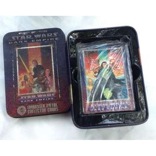 Star Wars Embossed Metal Collection Cards