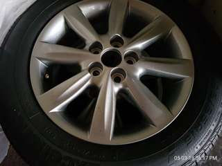 "Toyota Wish 15""Origin Sport c/w Tyres"