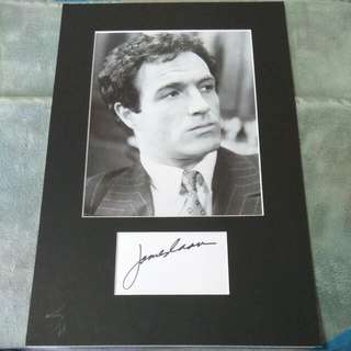 Godfather James Caan Autograph Handsigned Sonny Santino Corleone Godfather Movie Hollywood Star (C.O.A) Certified Authentic Signature Investment