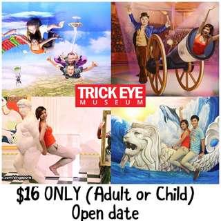 Trick Eye Museum Open Date Etickets